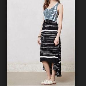 Anthropologie Lilka Arcata Print Maxi Dress